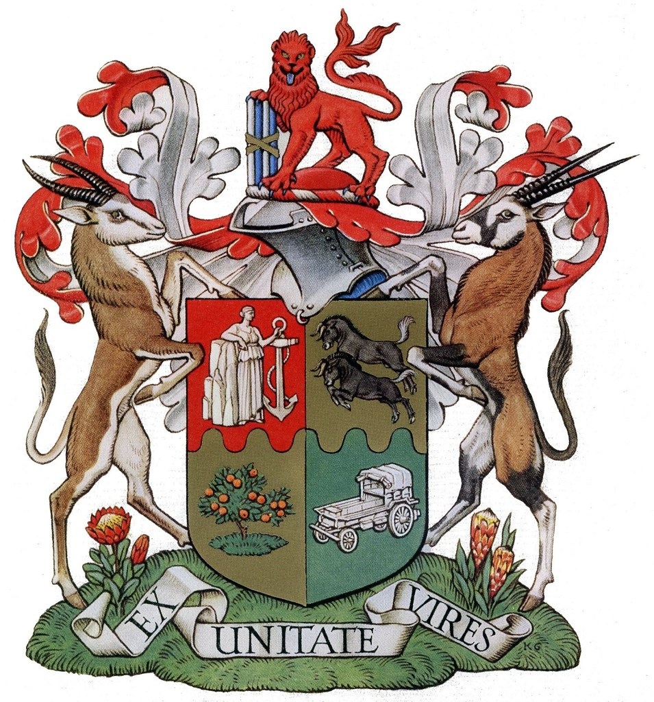 African Arm South African Coat of Arms
