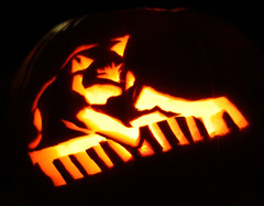 Keyboard Cat Pumpkin | by ReaktDesign