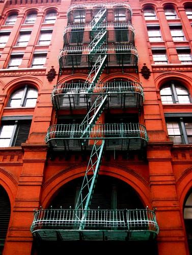 Fire Escape New York City 1940s : New york city fire escape classic nyc flickr