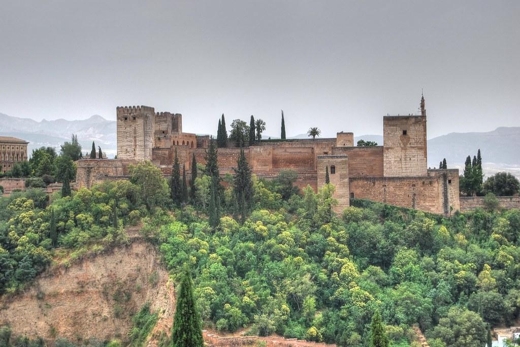 Alcazar de la alhambra de granada espa a vista de la for La casa de granada en madrid