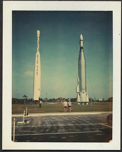 1960s Florida Rocket Ships Usa Space Travel Cape Canaveral