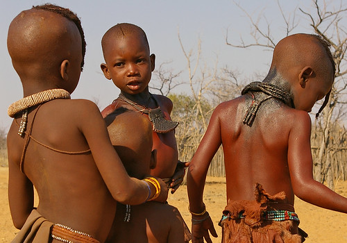 Himba children | by Sallyrango