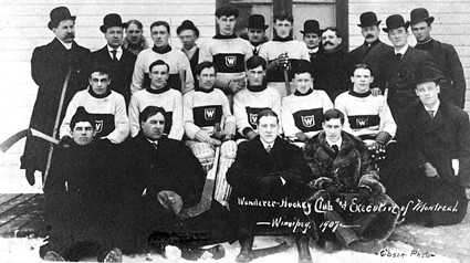 1907 Montreal Wanderers team