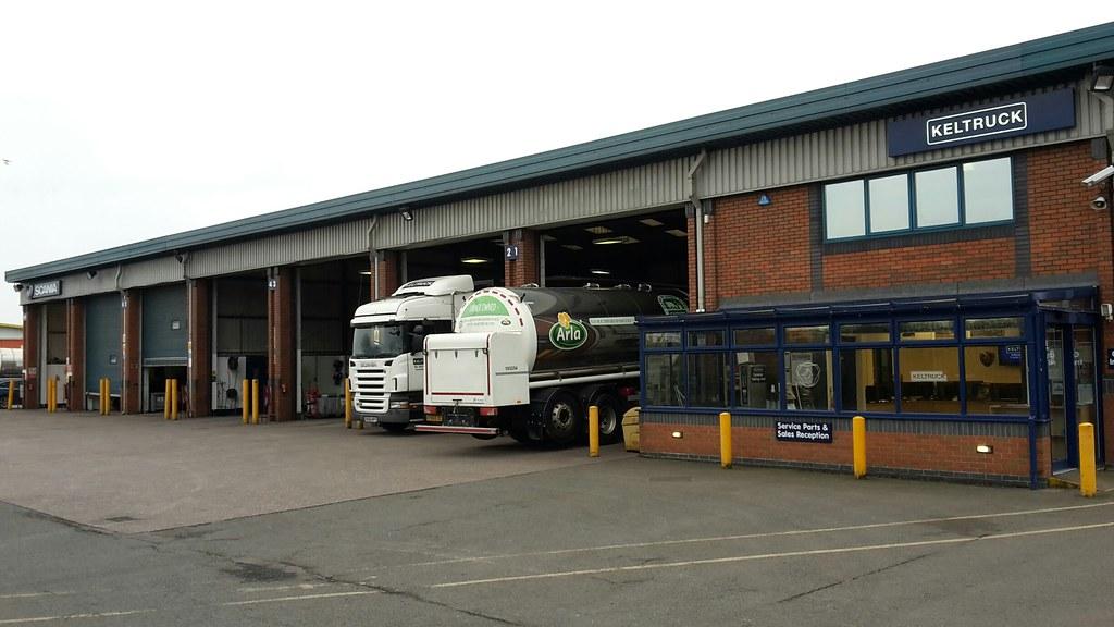Keltruck Scania Burton on Trent