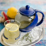 Thymian-Zitronen-Ingwer-Chili-Tee