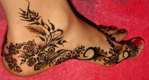 Henna On Inside Of Foot Asha Savla Design Volcano Henna By Flickr