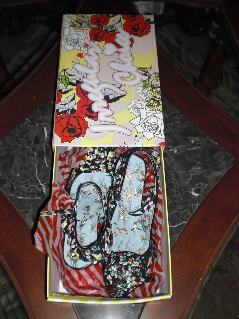 Irregular Choice Womens Primrose Court Shoes