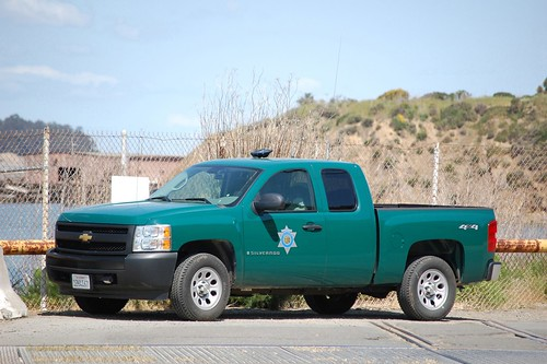 California department of fish and game warden truck flickr for California fish and game jobs
