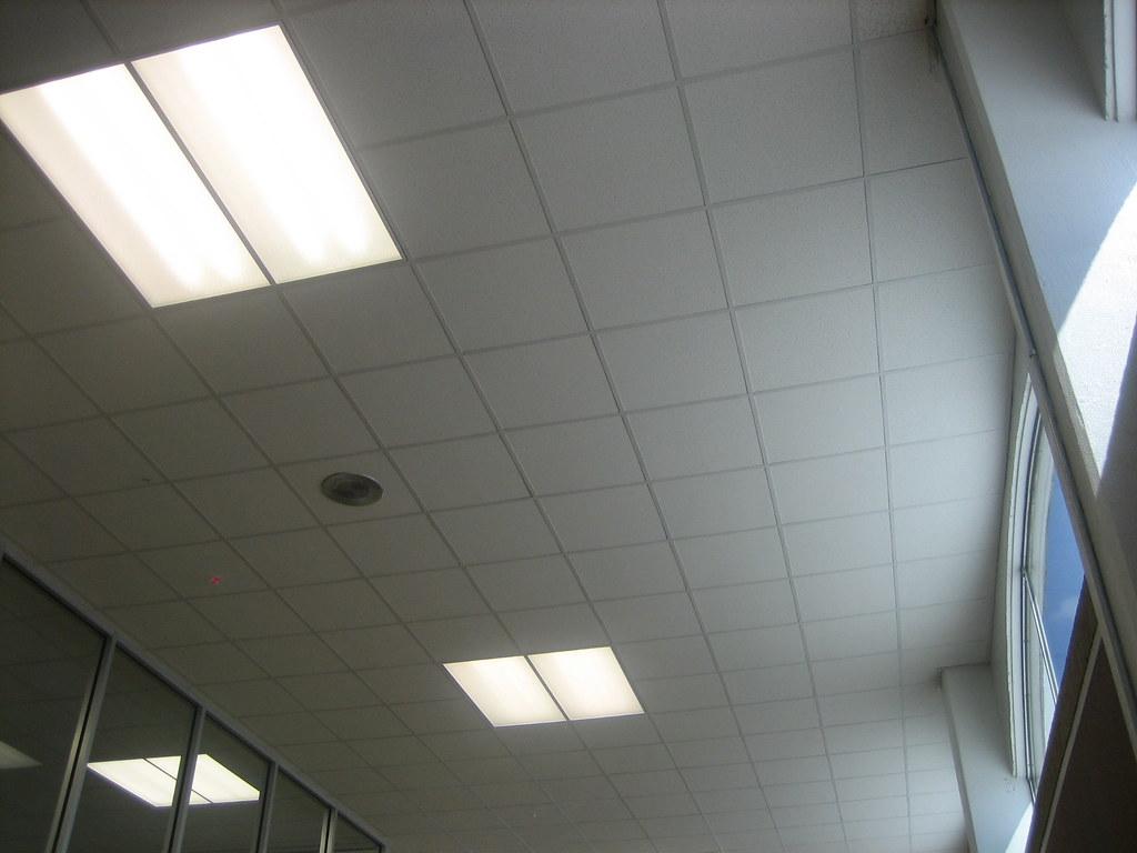 Ceiling tile light