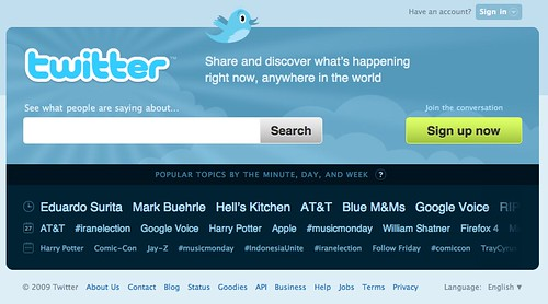 New Twitter Homepage | by b_d_solis