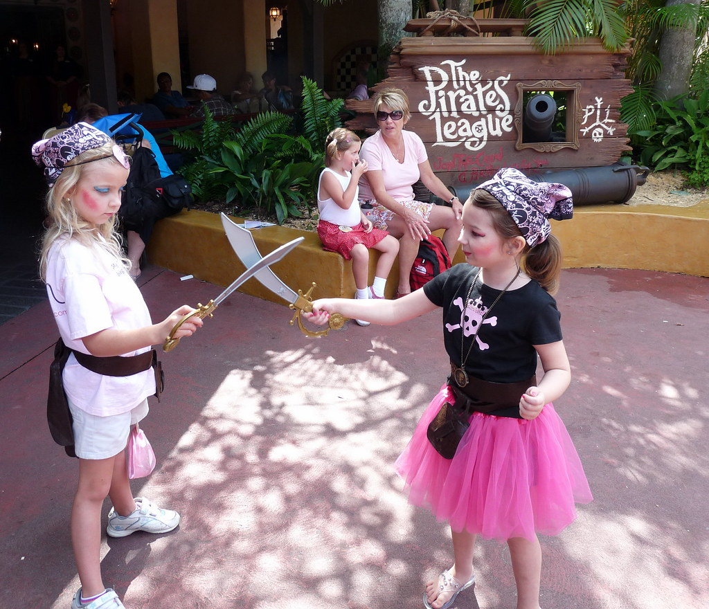 Walt Disney Worlds The Pirates League  Two Young Pirate
