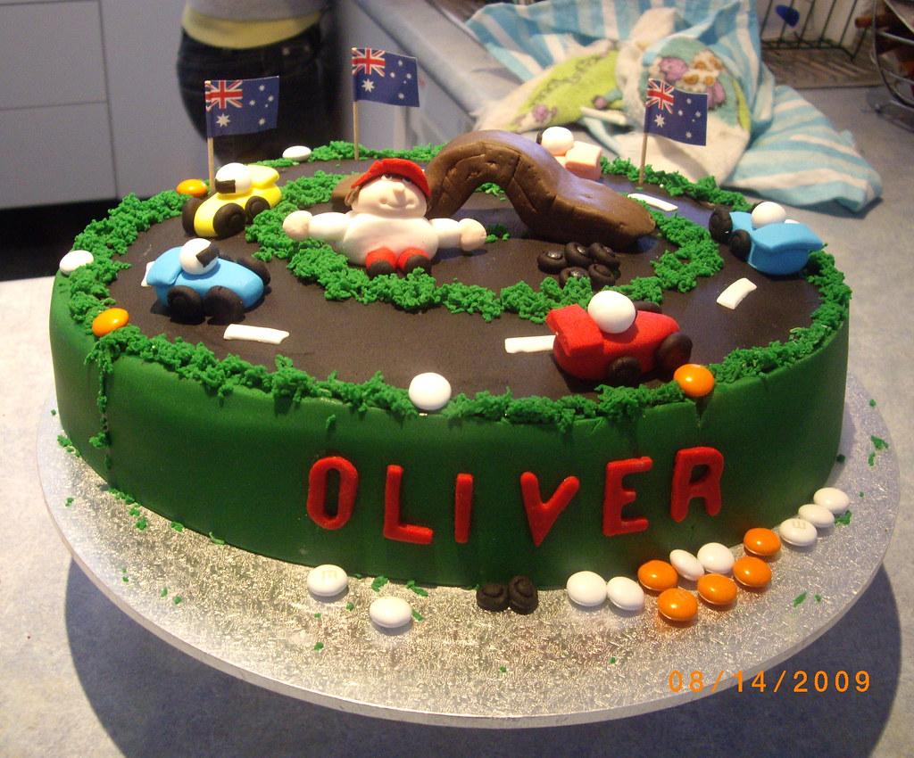 Olivers 3rd Birthday Cake Happy Birthday Oliver 080809 Flickr