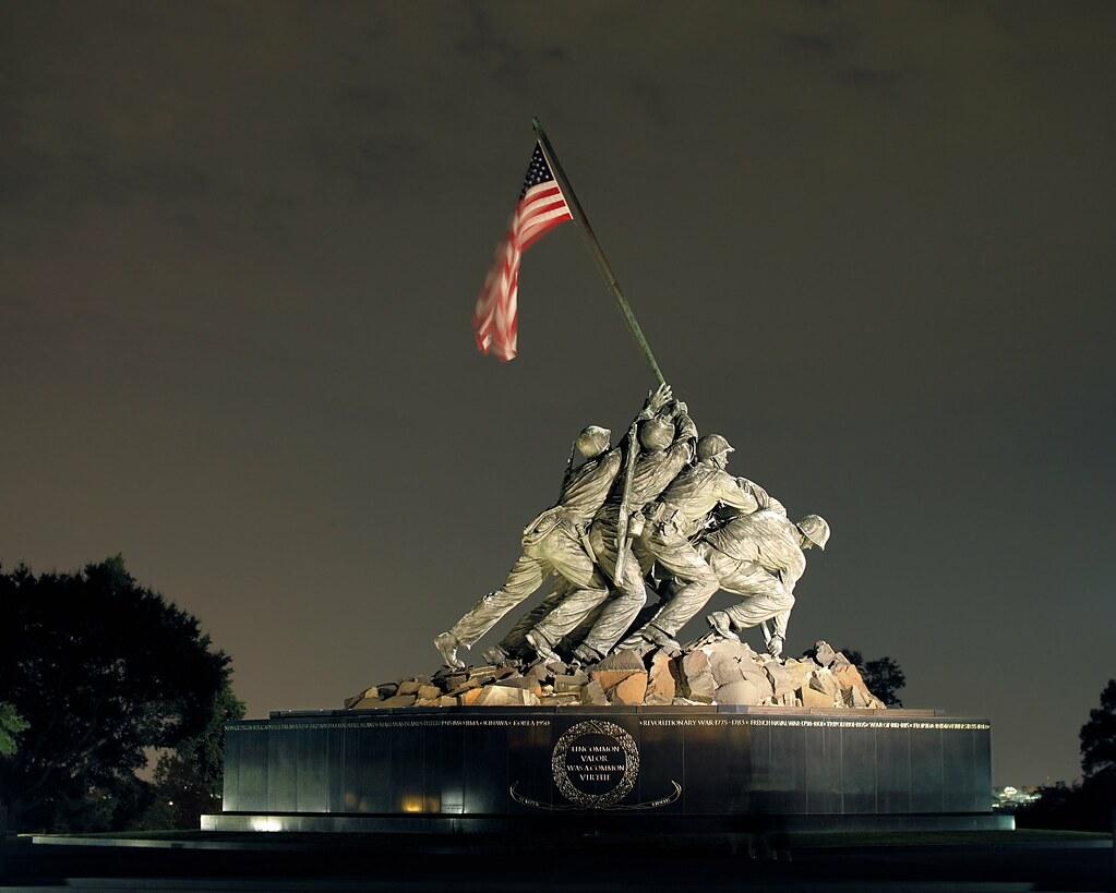 Iwo Jima Memorial / Marine Monument | Washington, DC ...
