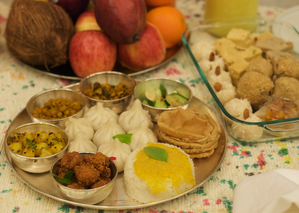Typical Indian Food Dishes