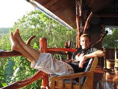 Relaxing at Koh Tao, Thailand