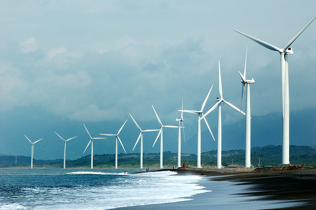 Bangui Windmills Philippine S Commitment To Clean And