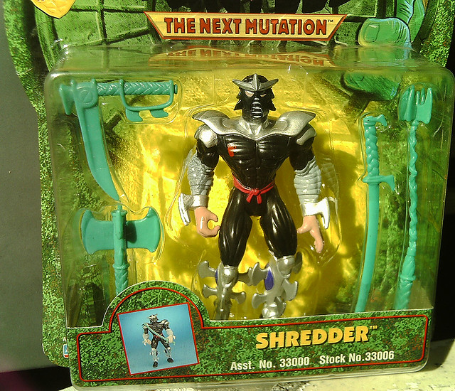 The Ninja Turtles Next Mutation Toys : Quot ninja turtles the next mutation shredder ii