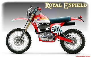 ROYAL ENFIELD BAJA RACER | by obiboi