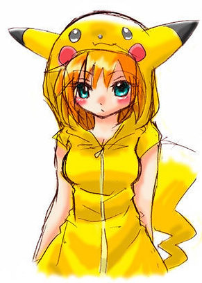pokemon cosplay  pikachu this is my fave pic so cute