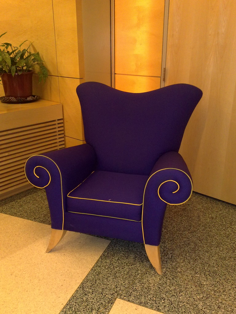 ... The Purple Armchair | By Marit U0026 Toomas Hinnosaar