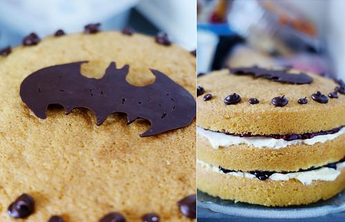 Jam Cream Sponge Cake Recipe