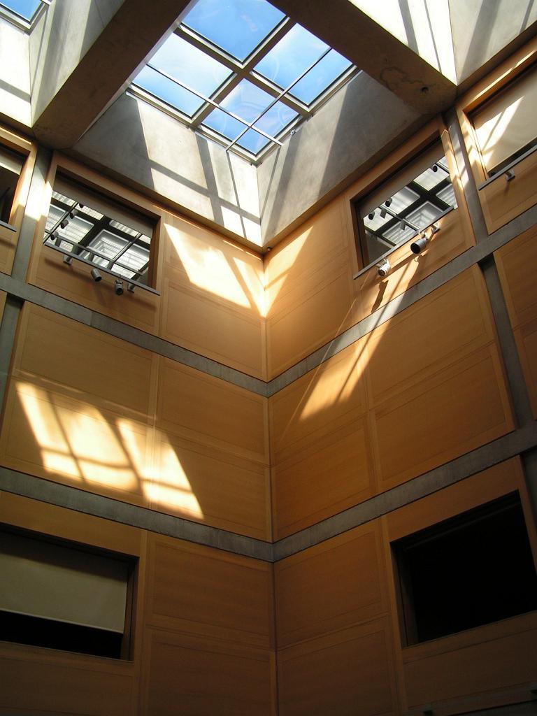 Yale Center For British Art Atrium Skylight Louis Kahn