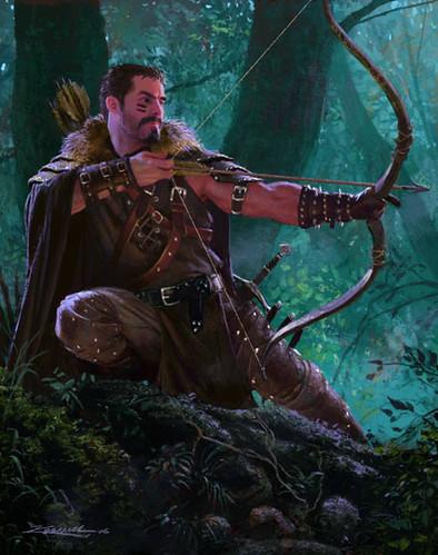 human ranger archer dampd pics flickr