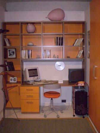 Scrivania con libreria zalf scrivania e libreria in for Scrivania con libreria ikea
