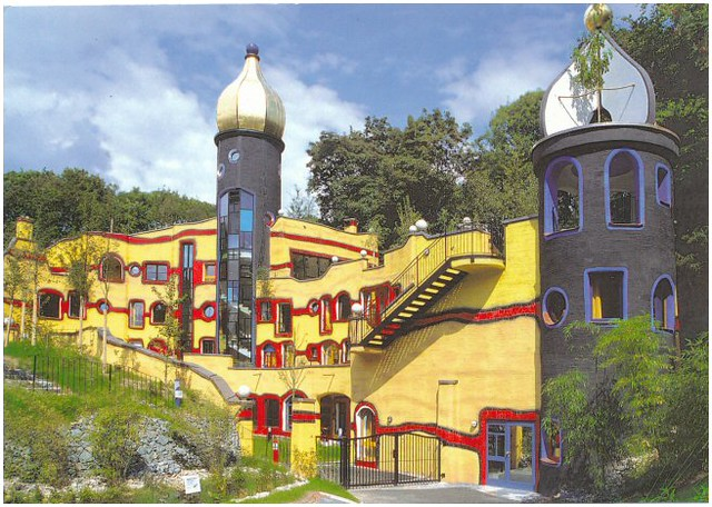 Roald Mcdonald House In Essen Hundertwasser Architecture
