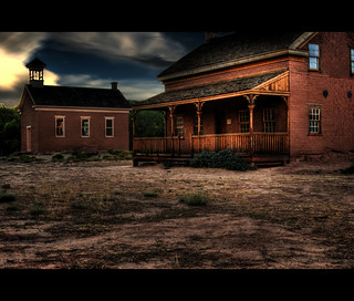 In the Desert We have Ghost Towns... | by Bill Ratcliffe