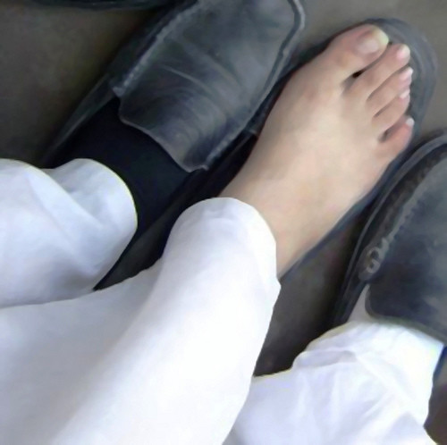 Pakistani College Girl Feet  Desifeet  Flickr-5082