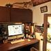 Man cave office