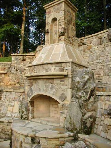 custom stone fireplaces. custom stone fireplaces