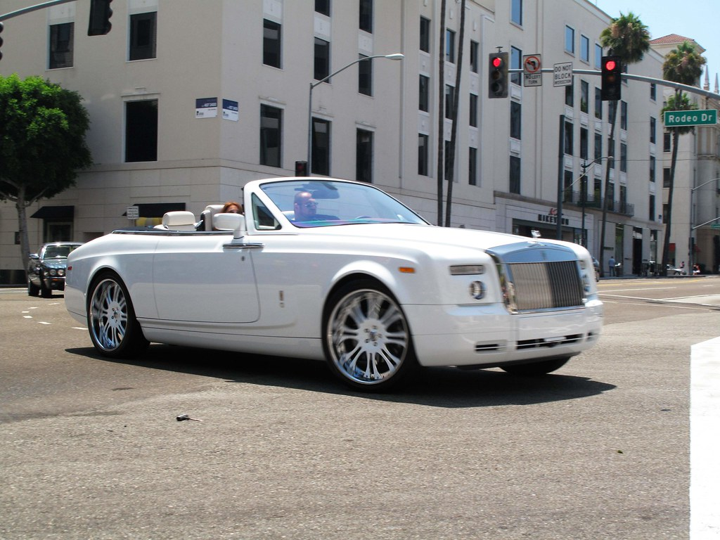 Rolls-Royce Phantom Drophead | And when white interior on ...