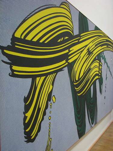 "Roy Lichtenstein ""Brush strokes"" 