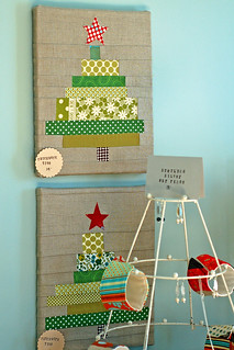 One of my favorites - patchwork trees | by Providence Handmade