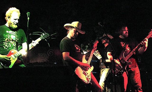 White Cowbell Oklahoma Tour Dates