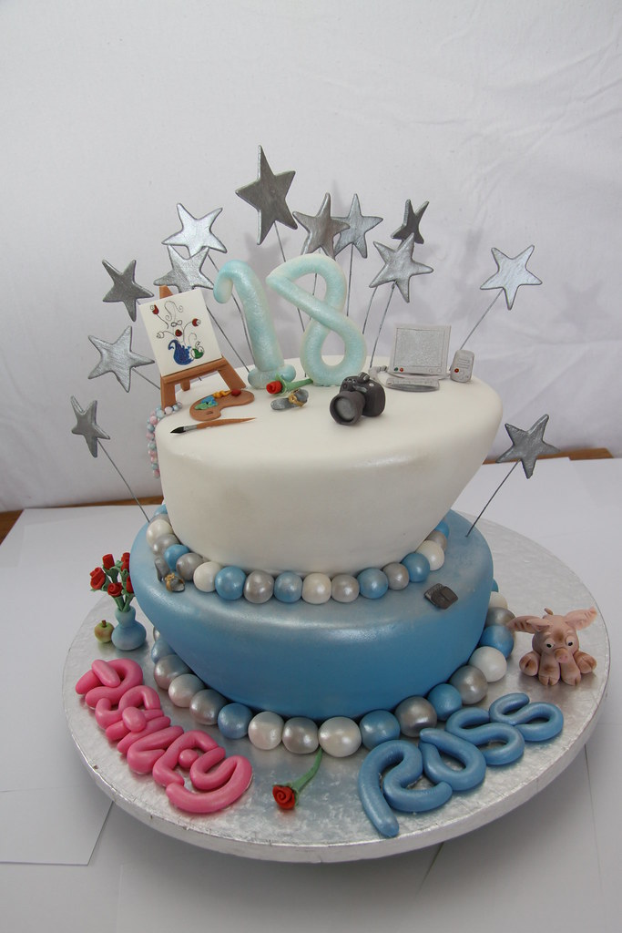 Debut Cake Design With Stairs : TOPSY TURVY 18TH BIRTHDAY CAKE FOR TWINS An 18th ...
