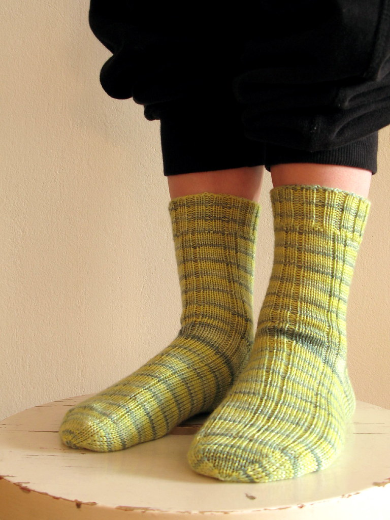Knitting Vintage Socks Nancy Bush : Madder ribbed sock by nancy bush pattern source