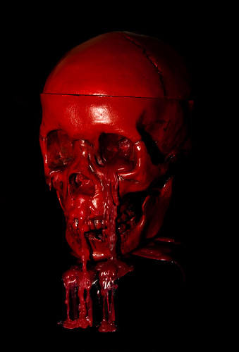Blood Skull Blood Skull Cast Candle From Real Human