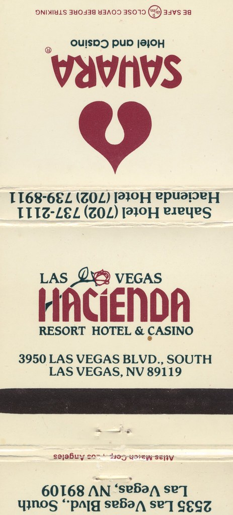 Hacienda Hotel & Casino - Las Vegas, Nevada (2)