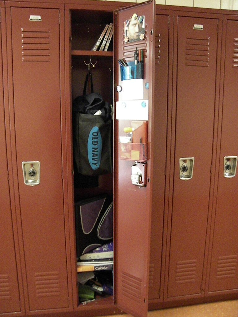 Locker Here S A Far Out Shot Of My Locker Note The