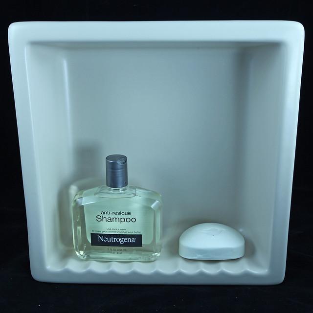 Mp Recessed Shampoo Soap Niche Shelf Holder Dish 6 Flickr Photo Sharing