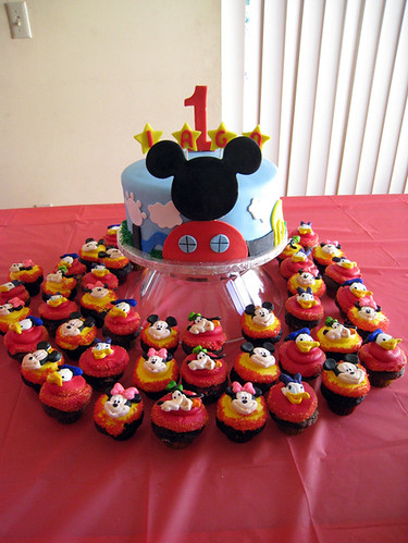 mickey mouse clubhouse birthday cupcake cakes on birthday cake pic new