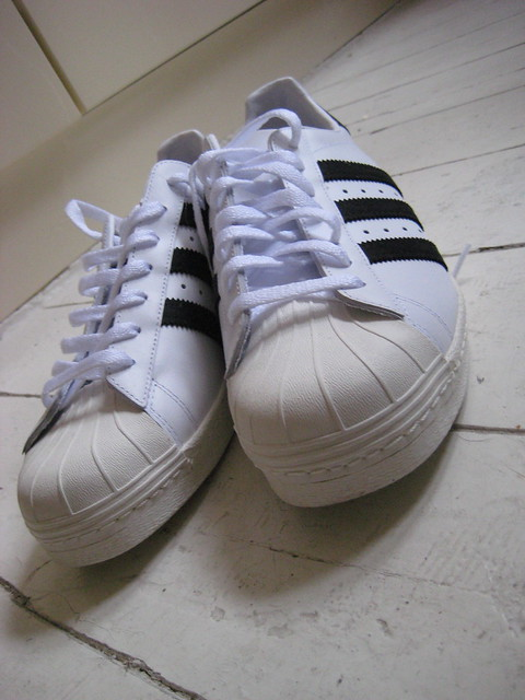 Adidas Superstar Shelltoe Mens Shoe Canvas White Red Us