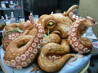 Giant Octopus Cake | by Karen Portaleo
