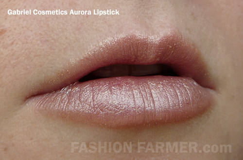 Gabriel Cosmetics Aurora Lipstick | Reviewed here | Fashion Farmer ...
