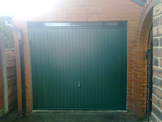 Green Garador Carlton | by Lakes Garage Doors