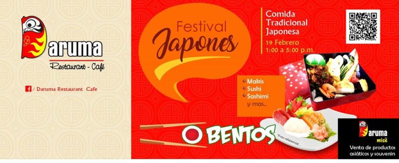 DARUMA OBENTO´S DAY | Festival Gastronómico Japonés