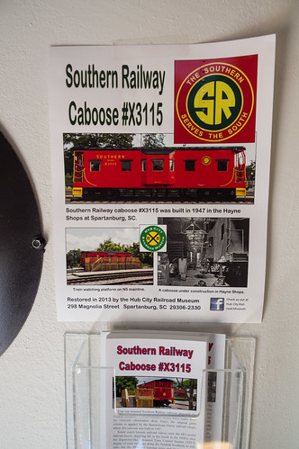 Southern X3315 caboose - 12